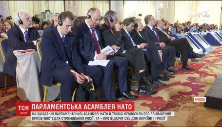 Двери НАТО остаются открытыми для Украины и Грузии