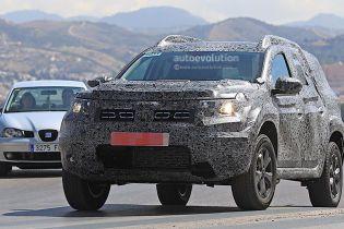 Renault вывел на испытания новый кроссовер Duster