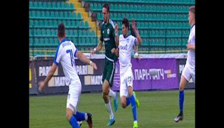 Ворскла – Дніпро – 1:0. Відео голу В'ячеслава Шарпара