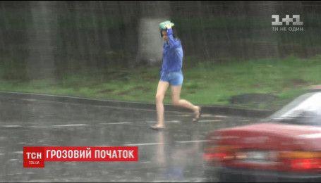 Штормовим вітром з градом розпочнеться перший день літа для деяких українців