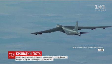США направляют к российским границам бомбардировщики Б-52, способные нести ядерное оружие