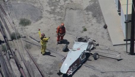 В авиакатастрофе в штате Калифорния погиб человек
