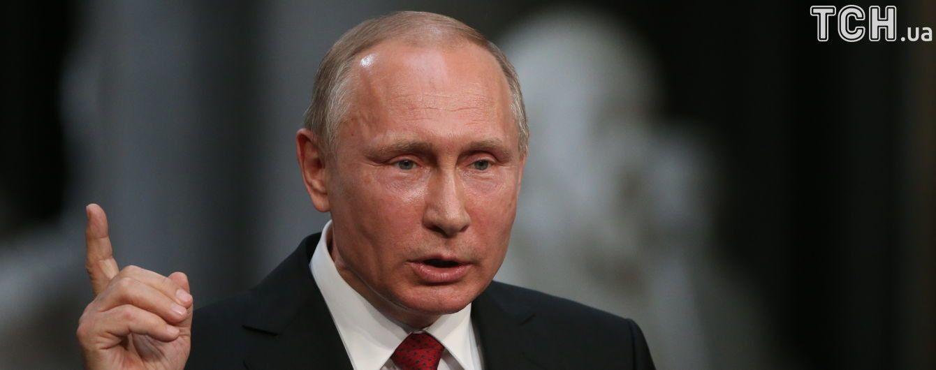 """Путін поговорить з росіянами у прямому ефірі і відповість на їхні запитання з """"Вконтакте"""" та """"Однокласників"""""""