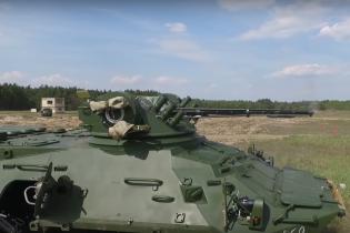 Нацгвардия получила очередную партию БТР-3ДА