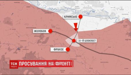 Україна взяла під вогневий контроль стратегічно важливу дорогу й окуповане селище Жолобок