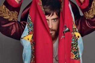 """Вічно молодий Джаред Лето у дизайнерських халатах та піжамах прикрасив """"чоловічий"""" Vogue"""