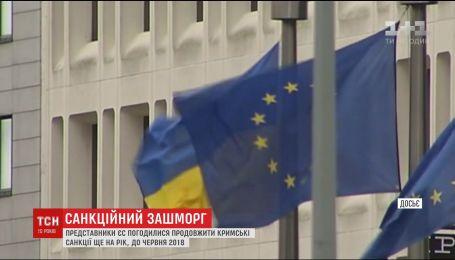 ЄС подовжить кримські санкції на рік