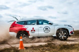 В Украине пройдут уникальные внедорожные тест-драйвы Mitsubishi