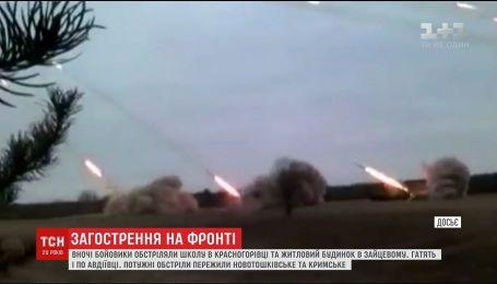 Работников насосной станции №1 до сих пор не могут эвакуировать из-за обстрелов боевиков