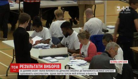В Великобритании подводят итоги досрочных парламентских выборов