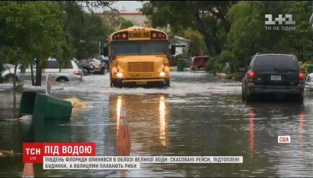 В американській Флориді за добу випала місячна кількість опадів