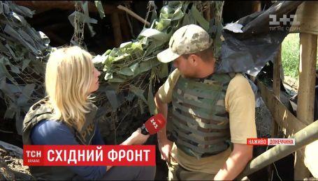 Подробности ожесточенных боев вблизи поселка Желобок на Луганщине