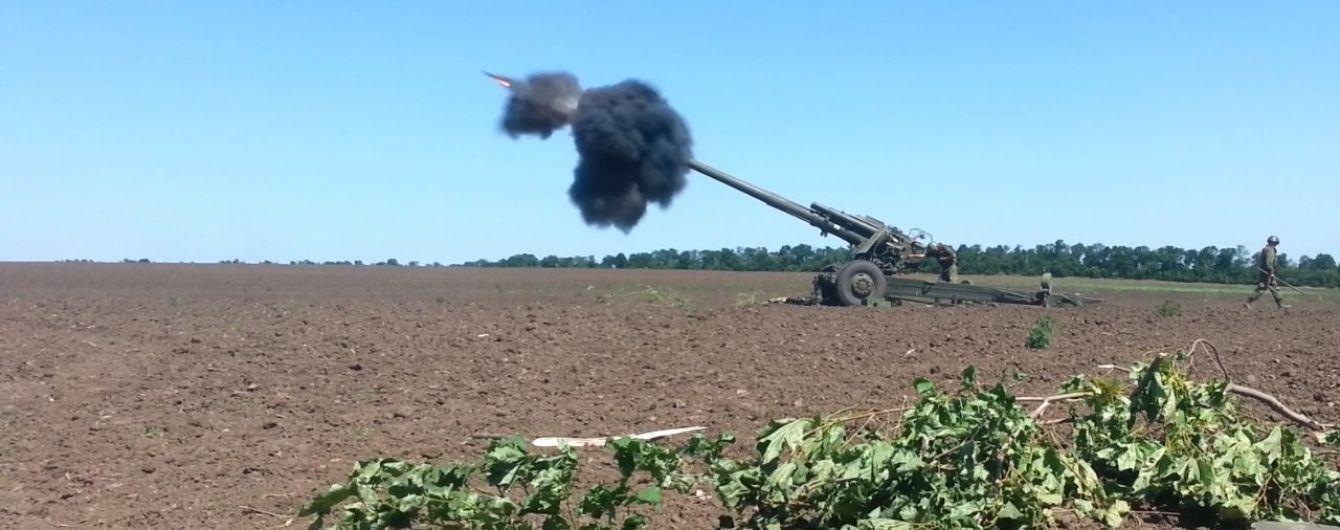 """Ствольная артиллерия и """"тяжелые"""" минометы: боевики обстреляли украинских военных из запрещенного оружия"""