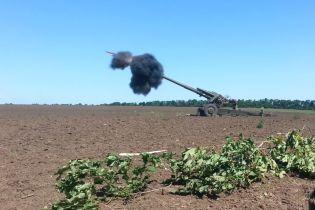 """Ствольна артилерія і """"важкі"""" міномети: бойовики обстріляли українських військових із забороненої зброї"""