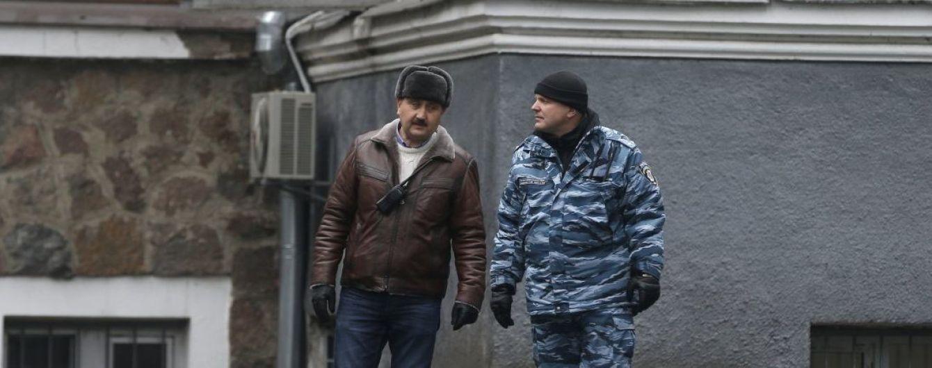Опубликовано видео с экс-беркутовцем Кусюком, который командует силовиками в Москве