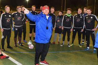 Экс-форварда сборной Украины Воронина уволили с должности главного тренера немецкого клуба