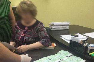Суддю з Броварів, яку затримали на хабарі в 1000 євро, почнуть судити