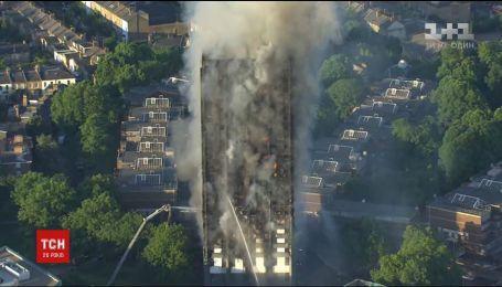 Внаслідок пожежі висотки у Лондоні 6 людей загинули, 79 – у лікарнях з отруєнням