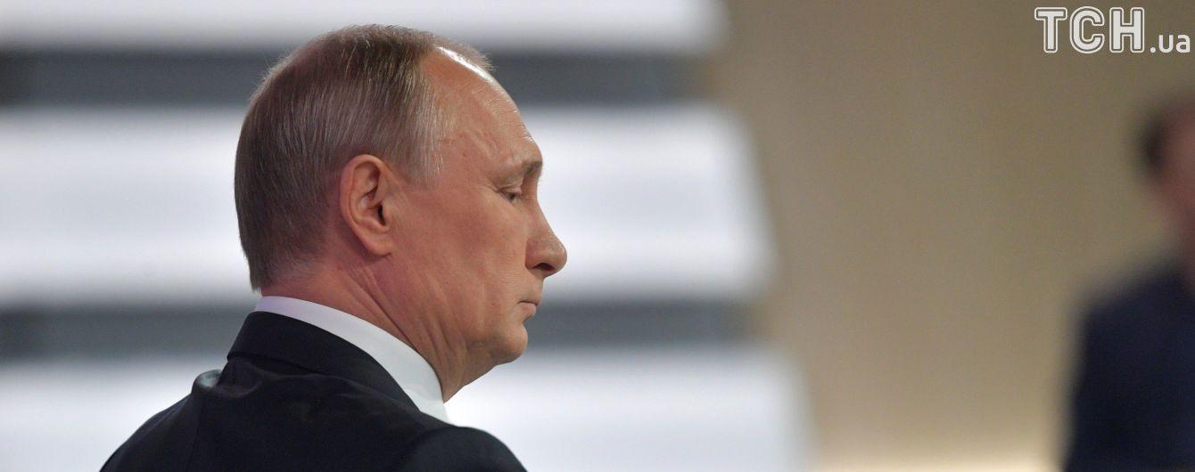 """""""Чушь, конечно"""". Текстова версія """"Прямої лінії"""" з Путіним"""