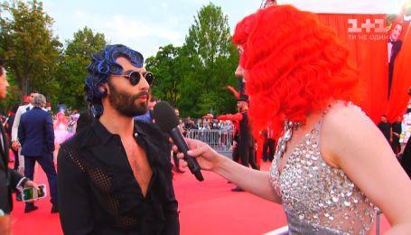 """Кончіта Вурст: """"Я почула не всіх конкурсантів Євробачення, бо була трохи напідпитку"""""""