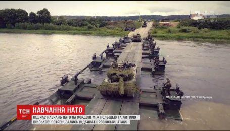 Солдати НАТО потренувалися відбивати російську агресію