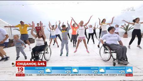 """Учасники проекту """"Переможці"""" готуються до Одеського півмарафону-2017"""