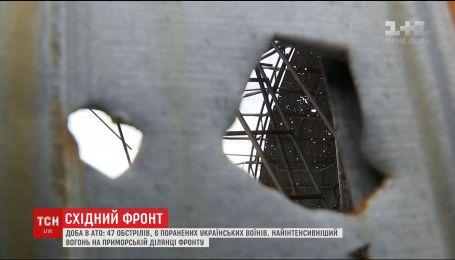 Шестеро український бійців отримали поранення на сході України