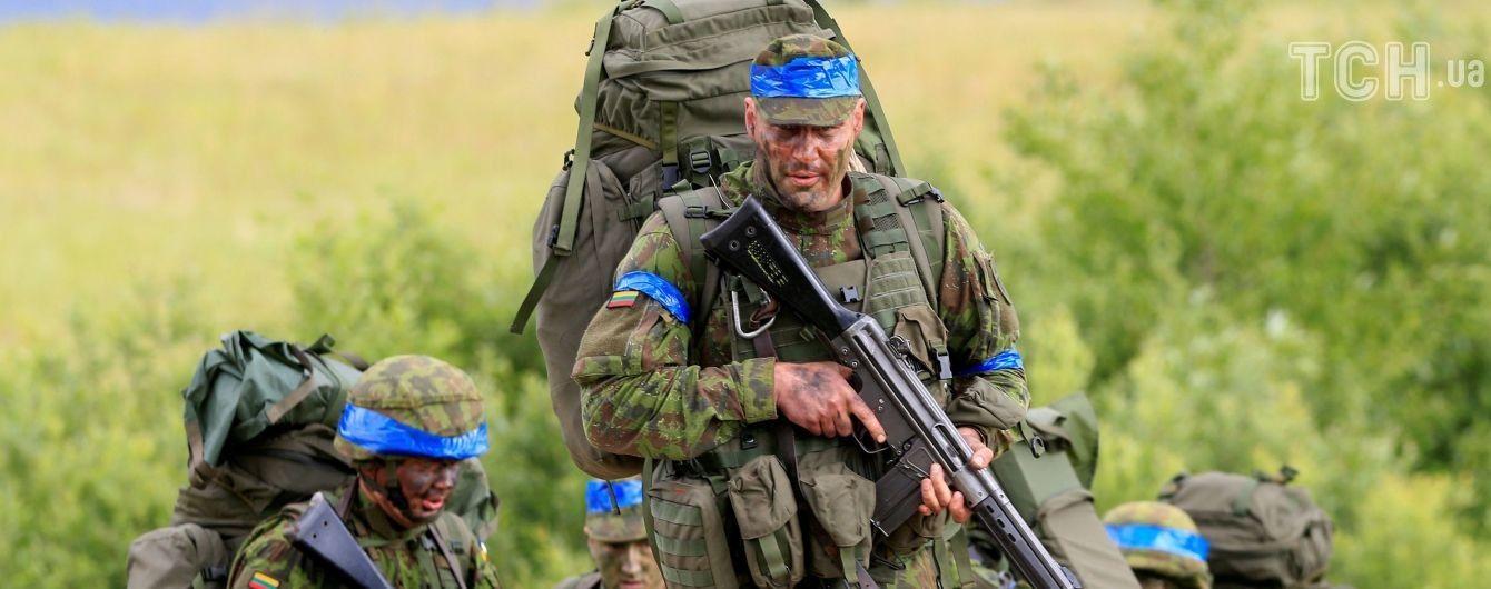 В Украину отправились военные инструкторы из Литвы