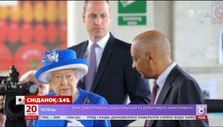 """Принц Уильям сделал """"некоролевский"""" поступок прямо на глазах у королевы Елизаветы II"""