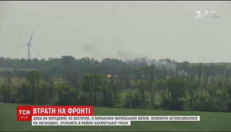 Вследствие огня оккупантов на фронте получили ранения 4 украинских воинов