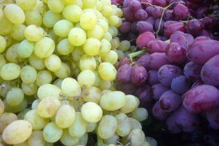 В Украине на месяц раньше появился в продаже отечественный виноград