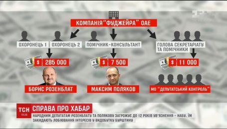 Нардепам Розенблату и Полякову грозит до 12 лет тюрьмы