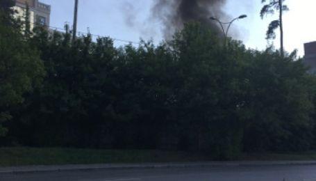 Вслед за пожаром на Крещатике в Киеве загорелось здание университета
