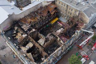 Двоє екс-нардепів Київради відхрестились від згорілої будівлі на Хрещатику