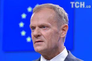 Туск призвал ЕС вместе выступить за спасение ядерной сделки с Ираном