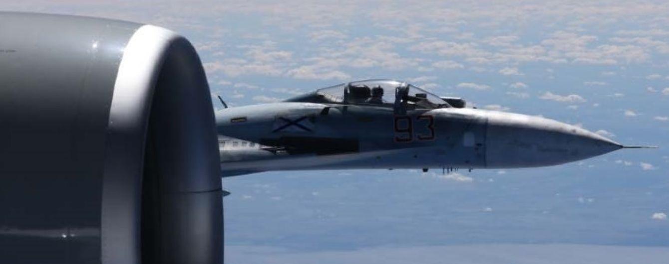 Российские Су-27 замечены у границ НАТО