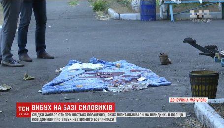 На территории одной из баз спецподразделения МВД прогремела серия взрывов
