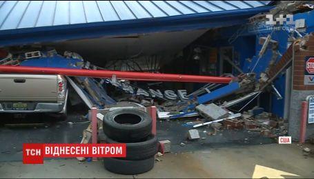Тропический шторм принес в американский штат Алабама торнадо и наводнения