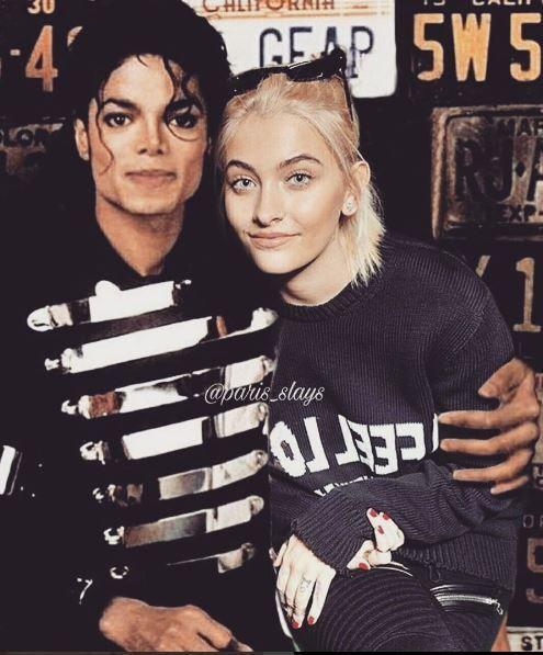 Періс Джексон та Майкл Джексон