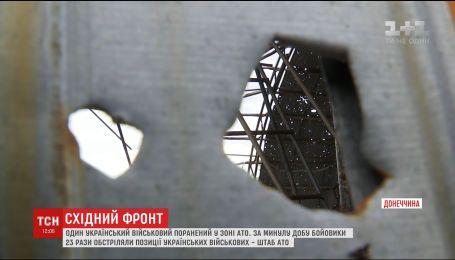 Военные задержали группу диверсантов из шести боевиков