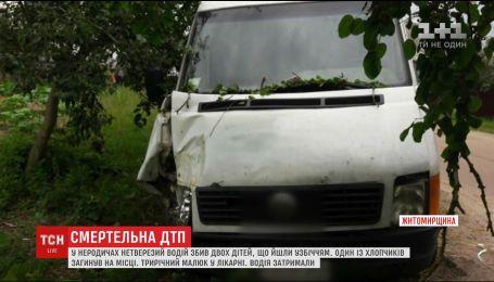 Пьяный водитель насмерть сбил маленького мальчика на Житомирщине