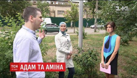 Адам Осмаєв дав ексклюзивне інтерв'ю ТСН разом з дружиною Аміною Окуєвою