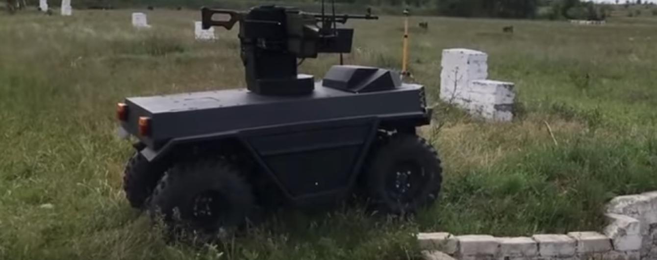 """В Украине разработали боевую роботизированную платформу """"Ласка"""""""