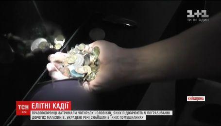 На Киевщине задержали банду грабителей, совершивших преступления по всей Украине