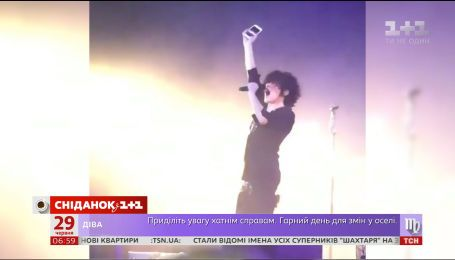 Певица LP впервые выступила в Киеве