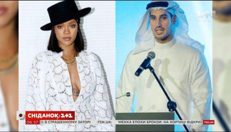 Рианна встречается с миллиардером из Саудовской Аравии