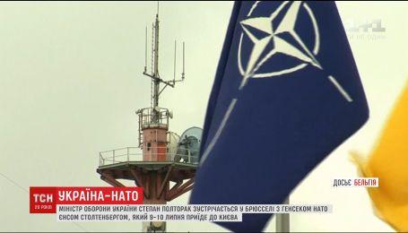 Полторак встретится с генсеком НАТО в штаб-квартире альянса в Брюсселе