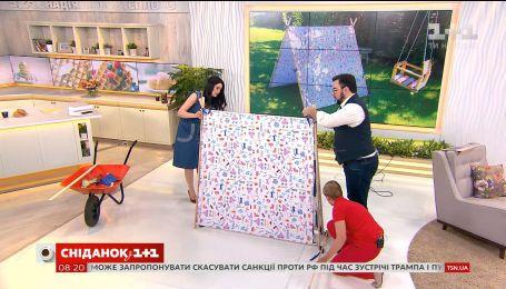 Ольга Пахарь показала, как построить еврохалабуду для детей