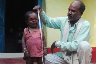 Новый рекордсмен: 50-летний индиец перестал расти в возрасте пяти лет