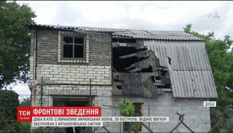 Средь бела дня пророссийские боевики в очередной раз атаковали Марьинку